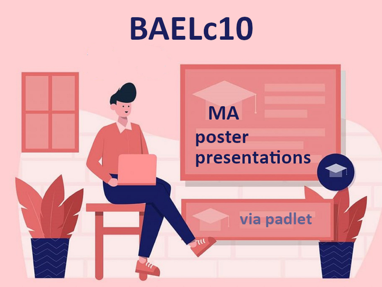 Right click to download: BAELc10 Poster Presentations