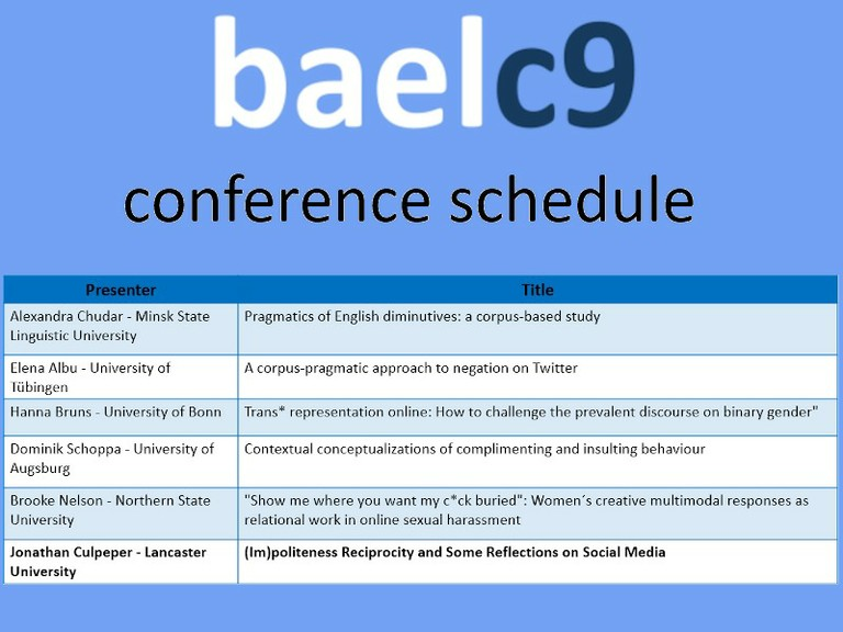 Right click to download: baelc9_schedule
