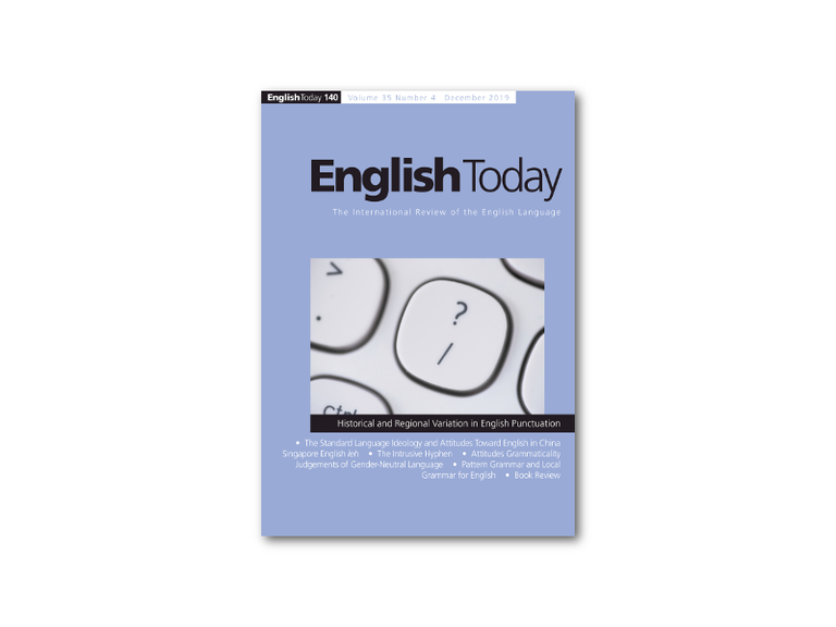 Right click to download: English Today