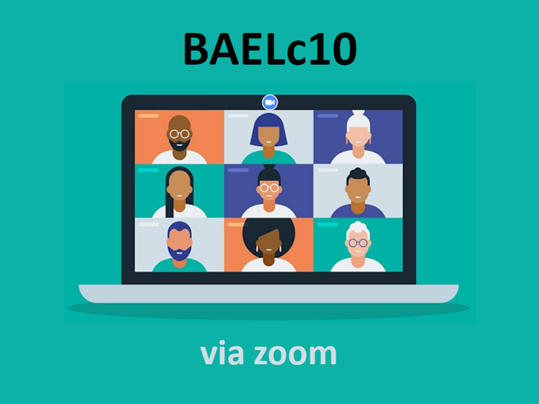 Right click to download: BAELc10 zoom link